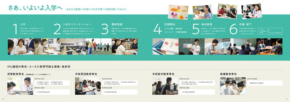 IPU・環太平洋大学 通信教育過程パンフレット2